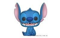 Lilo & Stitch S2 Smiling Seated Stitch Pop! Vinyl Figure Clearance Sale