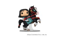 Disney Mulan Mulan on Khan Funko Pop! Ride Clearance Sale