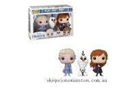 Disney Frozen 2 Elsa, Olaf & Anna EXC Pop! 3-Pack Clearance Sale