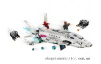 Genuine Lego Stark Jet and the Drone Attack