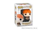 Harry Potter Ron Weasley Puking Slugs with Bucket Funko Pop! Vinyl Clearance Sale