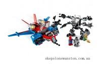 Discounted Lego Spiderjet vs. Venom Mech