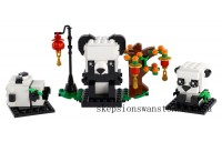 Genuine Lego Chinese New Year Pandas