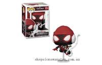 Marvel Spiderman Miles Morales Winter Suit Pop! Vinyl Clearance Sale