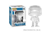 Halo Master Chief with Energy Sword Translucent EXC Funko Pop! Vinyl Clearance Sale