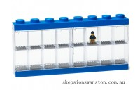 Discounted Lego® Minifigure Display Case 16 – Blue