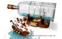 Discounted Lego Ship in a Bottle