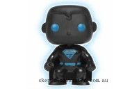 DC Justice League Superman Glow in the Dark Silhouette EXC Funko Pop! Vinyl Clearance Sale