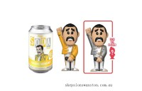 Queen Freddie Mercury Vinyl Soda Figure in Collector Can Clearance Sale
