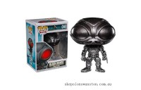 DC Comics Aquaman Black Manta Brushed Steel EXC Funko Pop! Vinyl Clearance Sale