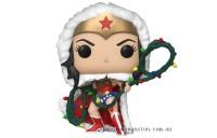 DC Comics Holiday Wonder Woman with Lights Lasso Funko Pop! Vinyl Clearance Sale