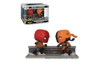 PX Previews SDCC 2020 EXC DC Red Hood vs Deathstroke Funko Pop! Comic Moment Clearance Sale