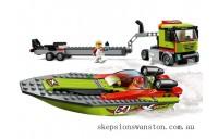 Hot Sale Lego Race Boat Transporter