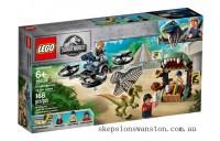Genuine Lego Dilophosaurus on the Loose