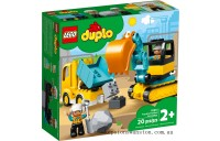 Outlet Sale Lego Truck & Tracked Excavator