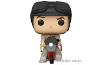Dumb & Dumber Lloyd with Bicycle Funko Pop! Ride Clearance Sale