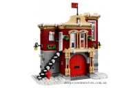 Clearance Lego Winter Village Fire Station
