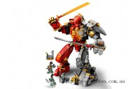 Discounted Lego Fire Stone Mech