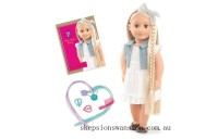 Hot Sale Our Generation Phoebe Hair Play Doll