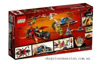 Hot Sale Lego Kai's Blade Cycle & Zane's Snowmobile