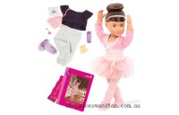 Clearance Our Generation Deluxe Doll Sydney Lee
