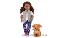 Discounted Our Generation Doll with Pet Malia