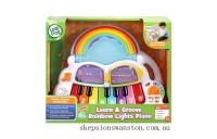 Discounted LeapFrog Learn & Groove Rainbow Lights Piano