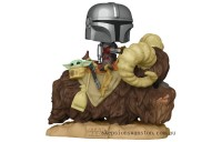 Star Wars The Mandalorian on Bantha with The Child (Baby Yoda) Funko Pop! Vinyl Clearance Sale
