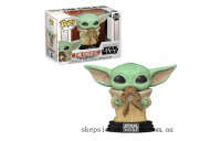 Star Wars The Mandalorian The Child (Baby Yoda) with Frog Funko Pop! Vinyl Clearance Sale