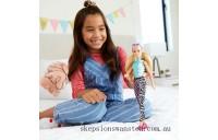Hot Sale Barbie Fashionista Doll 158 Malibu Sporty Leggings