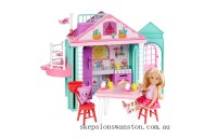 Discounted Barbie Club Chelsea Playhouse Doll Set