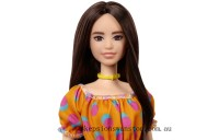 Genuine Barbie Fashionista Doll 160 - Orange Fruit Dress