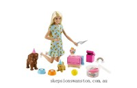 Genuine Barbie Puppy Party Playset and Doll