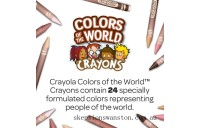 Outlet Sale Crayola Colours of the World 24 Pencils