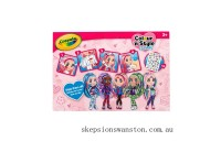Clearance Crayola Colour n Style Friends Deluxe Playset – Rose