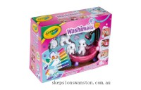 Genuine Crayola Washimals Colour and Wash Colouring Playset