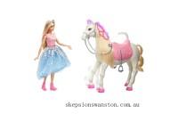 Genuine Barbie Princess Adventure Prance & Shimmer Horse
