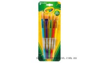 Hot Sale Crayola 5 Assorted Paintbrushes
