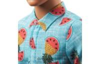 Outlet Sale Ken Fashionistas Doll 152 Tropical Print Shirt