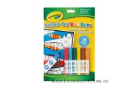 Hot Sale Crayola Colour By Numbers With Markers
