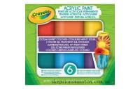 Discounted Crayola Acrylic Paint Ocean Sunset