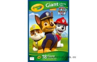 Clearance Crayola Giant Colouring Pages PAW Patrol