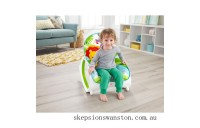 Clearance Fisher-Price Infant-to-Toddler Rocker Green Rainforest