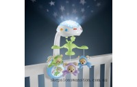 Hot Sale Fisher-Price Butterfly Dreams 3-in-1 Newborn Baby Light Projector Mobile
