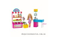 Outlet Sale Barbie Chelsea Can Be Snack Stand Playset and Doll