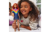 Discounted Barbie Fashionista Doll 141 Tie Dye Dress