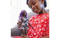 Discounted Barbie Fashionista Doll 125 Rosey Dress