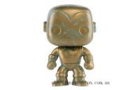 Marvel 80th Iron Man Patina EXC Funko Pop! Vinyl Clearance Sale