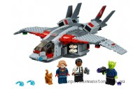 Genuine Lego Captain Marvel and The Skrull Attack