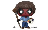 Marvel Deadpool Playtime 70's with Afro Funko Pop! Vinyl Clearance Sale